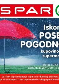 SPAR BONOVI -Akcija do 26.11.2019.