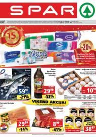 SPAR KATALOG - Ponuda prehrambenih namirnica, kozmetike, sredstava za čišćenje vrijedi 25.02.2020. Ponuda kućanstva, tekstila, tehnike vrijedi do 03.03.2020