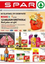 SPAR KATALOG - Ponuda prehrambenih namirnica, kozmetike, sredstava za čišćenje vrijedi do 30.06.2020. Ponuda kućanstva, tekstila, tehnike vrijedi do 07.07.2020