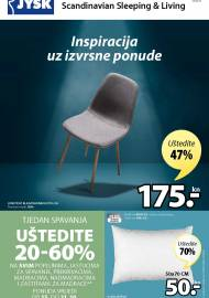 Jysk ponuda - JYSK Katalog - INSPIRACIJA UZ IZVRSNE PONUDE - Akcija sniženja do 28.10.2020