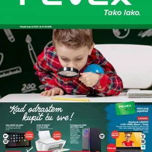 PEVEX KATALOG - ŠKOLA -Akcija do 01.09.2020.