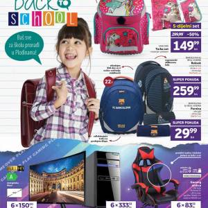 PLODINE  KATALOG - BACK TO SCHOOL -  Akcija sniženja do 20.09.2020.